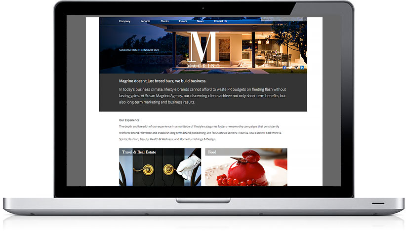 Susan Magrino Agency Home Page